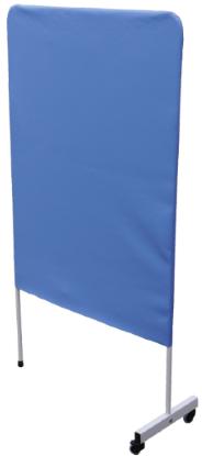 Parawan jednoskrzydłowy z tapicerowanym ekranem PQ804