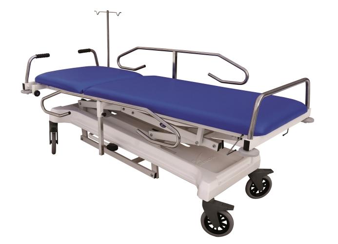 Stół do transportu chorych S405 EVO AT - pozycja anty-/Trendelenburga, głowa pacjenta poniżej poziomu