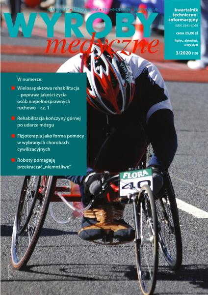 Okładka czasopisma Wyroby medyczne